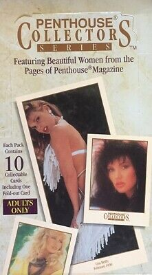 1992 PENTHOUSE COLLECTORS SERIES PREMIER EDITION PART SET 59 of 110 CARDS