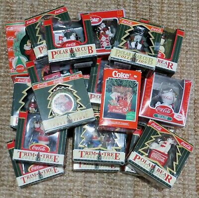 Coca-Cola Christmas Tree Ornaments And Decorations Ships Free Worldwide Daily