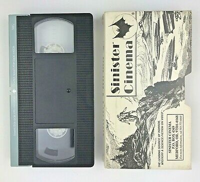 Sinister Cinema The Long Dark Hall VHS
