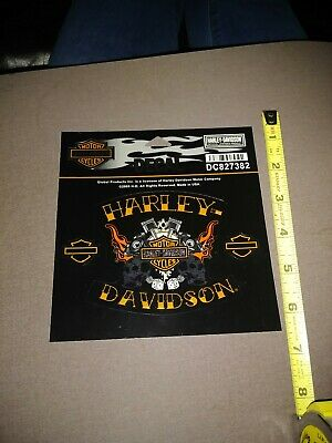 Harley Davidson Chroma DC827382 Decal