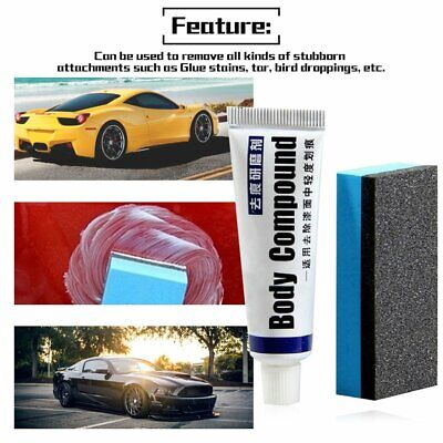 Auto Accessories Fix It Car Wax Car Body Compound Scratch Repair Tool#^