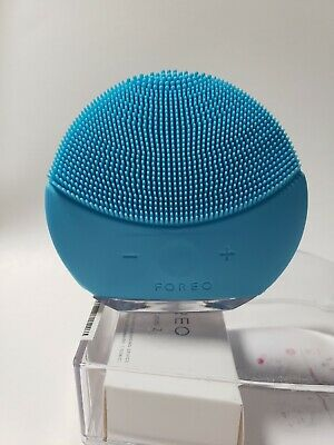 New FOREO LUNA MINI 2 T- Sonic Facial Cleansing Silicone Brush Massager In Box