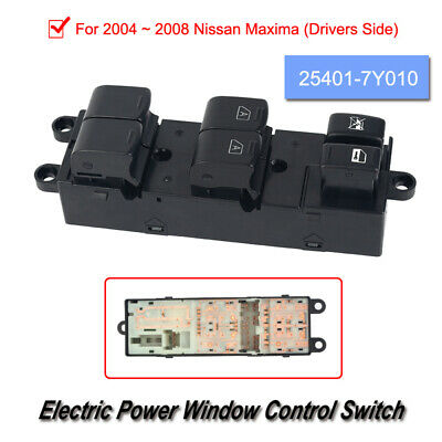 1 * Stable Car Window Start Stop Button Compatible with 2004-2008 Nissan Maxima