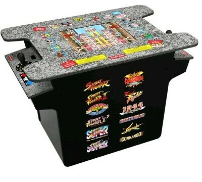 Arcade1Up Street Fighter Home Arcade Game Table