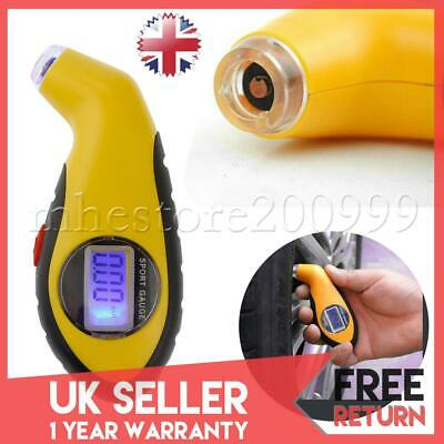 Portable  Digital LCD Tyre Air Pressure Gauge Tester For Auto Car Motorcycle Van