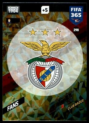 Panini 365 Adrenalyn XL 2018 - SL Benfica FANS: Club Badge No. 298