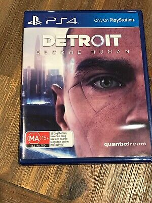 Detroit Become Human - PS4 PlayStation 4 - Very Good Condition