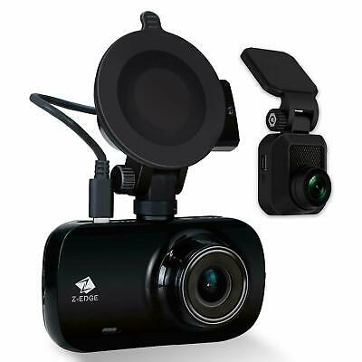 """Z-Edge Car GPS Dashcam FHD 1080P Front and Rear Dual Lens 2.7"""" 150° Wide Angle"""