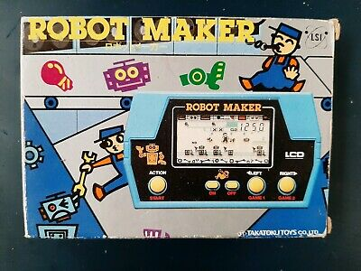 Nintendo Game & Watch Time & Fun LCD Game Robot Maker