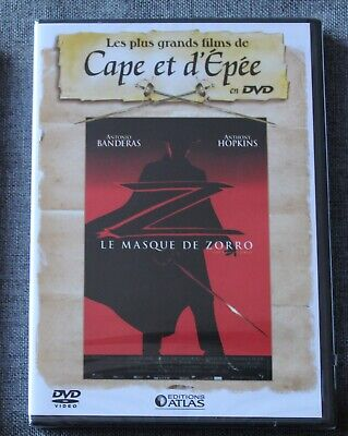 Le masque de Zorro - Antonio Banderas - Anthony Hopkins,  DVD neuf