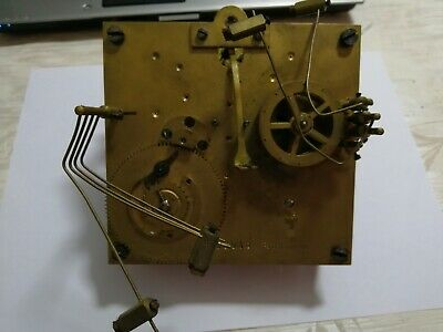 2 Hermle Mechanisms Incomplete 43cm Pendulum for Both Use for Parts and Spares