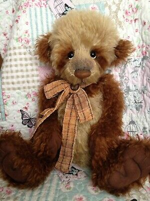 CHARLIE BEARS MR BROWNLOW ~ RARE RETIRED 2012 ISABELLE LEE BEAR ~ only 200 made