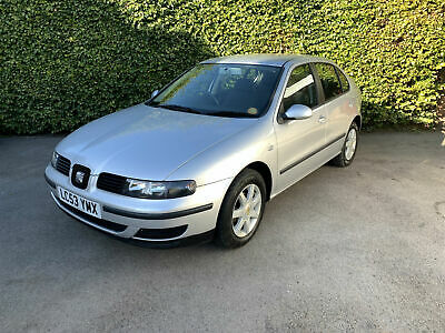 '53' Seat Leon 1.4 16v 2004MY S - 79,000 Miles, 1 Pre-Owner, Clean Car