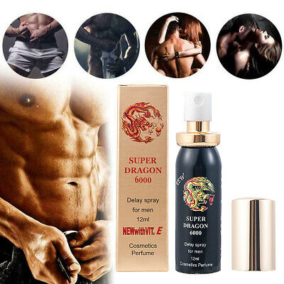 SUPER DRAGON 6000 EXTRA STRONG DELAY SPRAY FOR MEN WITH VITAMIN E FOR Male 12ml
