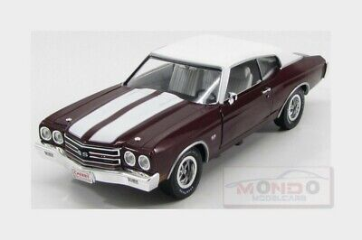 Chevrolet Chevy Chevelle 450Ss Cowl Induction 1970 AUTOWORLD 1:18 AMM1011-06 Min