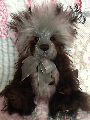 CHARLIE BEARS VINCENT 2015 10TH ANNIVERSARY ISABELLE LEE MOHAIR BEAR ~ below rrp