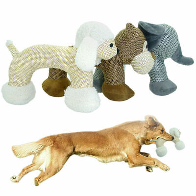 Aggressive Chew Toys for Dogs Indestructible Stuffed Squeaky Toy Sound Squeaker