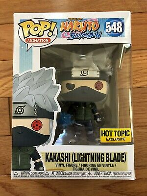 Funko Pop Animation Naruto Shippuden Kakashi (Lightning Blade) Hot Topic Excl
