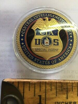 US CIA Central Intelligence Agency Special Agent challenge coin