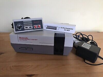 Nintendo Entertainment System - NES - Console With Official Charger, Controller