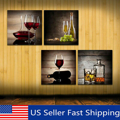 Modern Framed Abstract Pictures Canvas Art Oil Print Painting