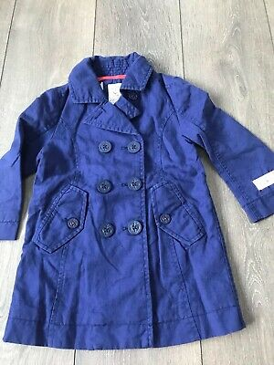 Girls Joules Lightweight Smart Coat Age 3 Years