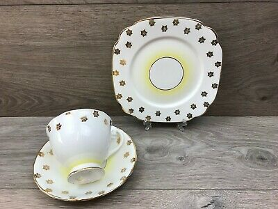 Vintage Windsor Bone China Tea Trio - Teacup, Saucer & Plate
