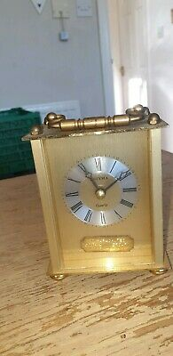 Vintage Ww2 Gq Parachutes 50Th Anniversary Estyma Carriage Clock 1934 To 1984