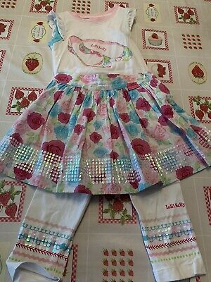 Lelli Kelly 4 Piece Floral Outfit - Age 5
