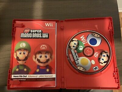 Super Mario Bros WII Game DISK Only