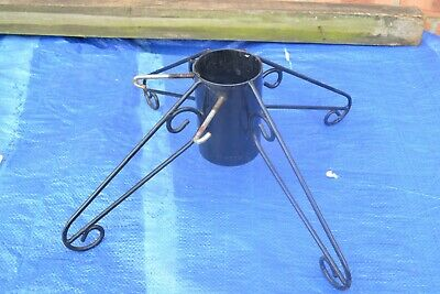 Metal Christmas Tree Stand for up to 9cm trees - #DM
