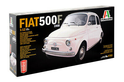 FIAT 500F 1968 KIT ITALERI 1:12 IT4703 Miniature