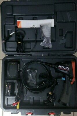 Ridgid CA-300 Micro Inspection Camera  Adapter To SeeSnake Interconnect Cord