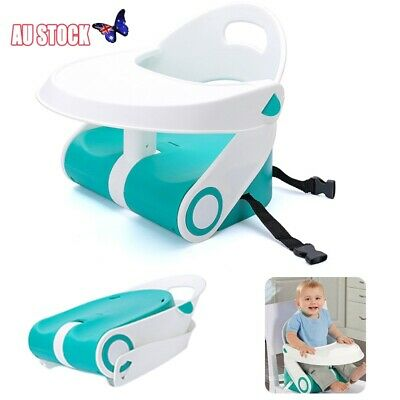 Infant Secure Portable Feeding Booster Seat Travel Increase High Chair Safety