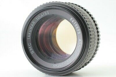 【EXC+3】 Asahi Pentax SMC Takumar 50mm F1.4 M42 Prime Lens From Japan #204
