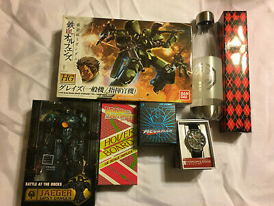 Loot Crate Geek Fuel Misc Item Lot Sherlock Star Trek Gundam Pacific Rim