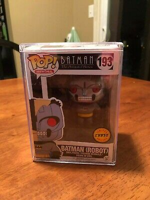 Funko Pop! Batman The Animated Series Batman Robot Chase w/ Pop Protector