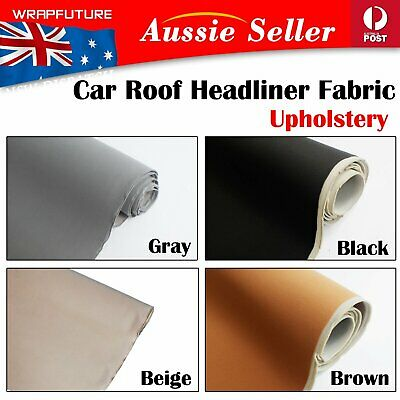 Headliner Upholstery Roof Fabric Replaced Cars Top Dome Liner Dirty/Torn/Stained