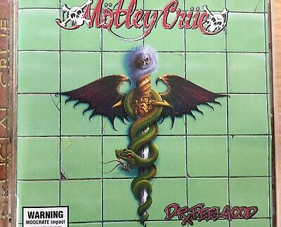 MOTLEY CRUE - Dr. Feelgood Expanded CD Motley Records AS NEW! Crucial