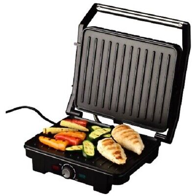 Fold Out 180 Degree Duo Health Grill Electric 2000W Non Stick Press or Open Cooker