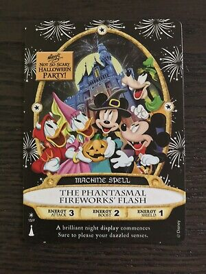 2019 Mickey's Not So Scary Halloween Party Sorcerers Of The Magic Kingdom Card.
