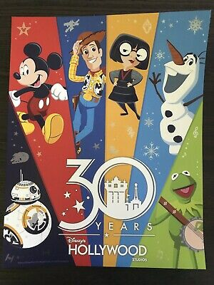 Disney's Hollywood Studios 30th Anniversary 2019 Poster