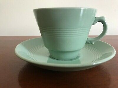 "Vintage Woods Ware  ""Beryl"" -  Tea Cup and Saucer"