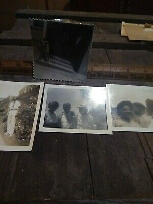 Segregation African american photo lot of 4 from Alabama