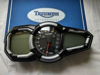 triumph tiger explorer clocks speedo tachometer instruments clock cluster gauge