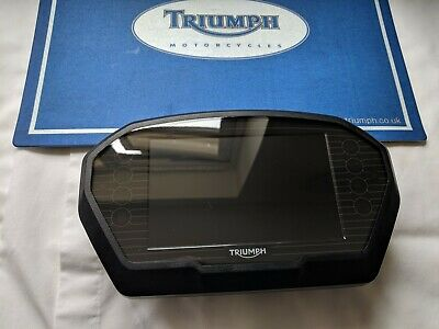 triumph tiger explorer 1215 clock speedo tacho instruments TFT screen cluster