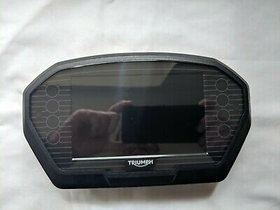triumph tiger 1200 explorer clocks speedo tachometer instruments TFT screen