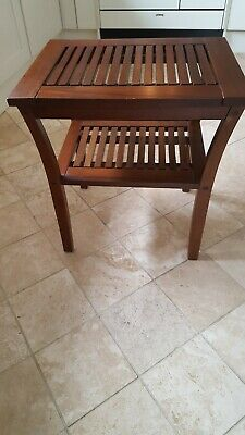 Small Mahogony Side Table Nightstand Solid Wood Occasional/Coffee/Lamp/End Stand