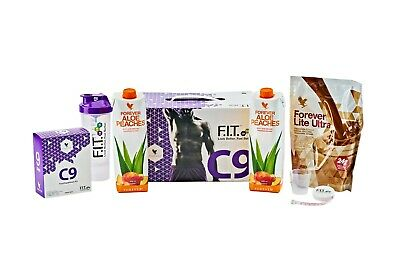 Forever Living C9 - with NEW PEACHES ALOE DRINK, clean 9, diet detox