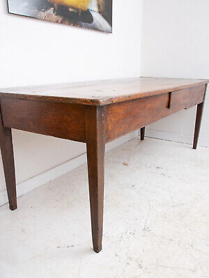 Authentic Antique French Farmhouse Dining Kitchen Table